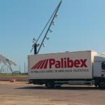Camión de Palibex en Barcelona
