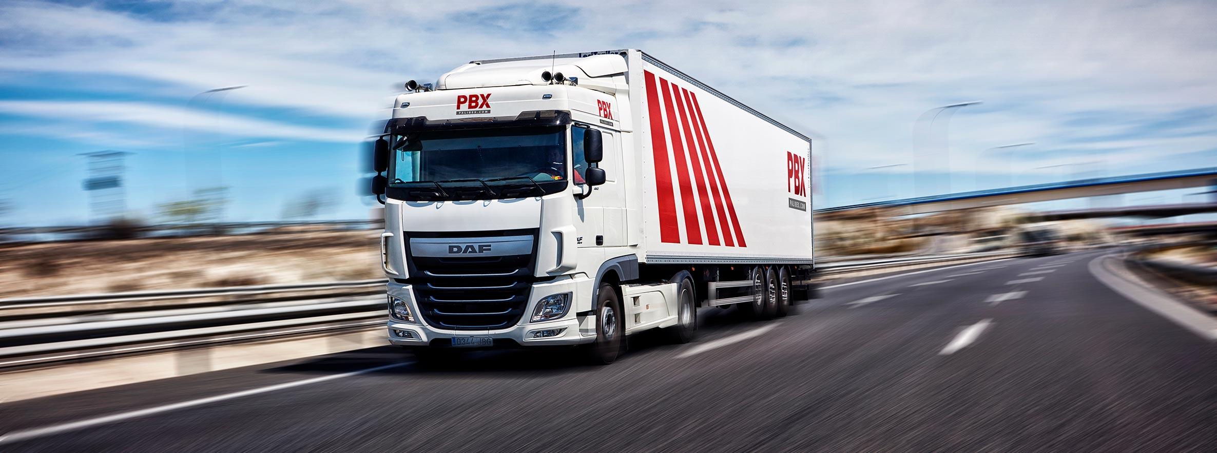 servicio ltl palibex - gran consumo - camion